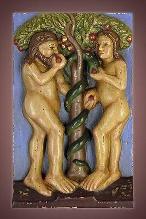 RELIEVE ADAN Y EVA