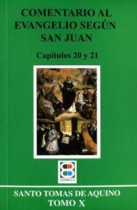 COMENTARIO AL EVANGELIO SEGÚN SAN JUAN