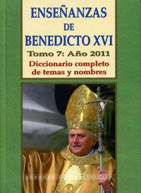 ENSEÑANZAS DE BENEDICTO XVI. TOMO 8: AÑO 2012