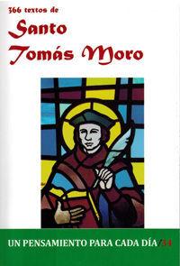 366 TEXTOS DE SANTO TOMÁS MORO