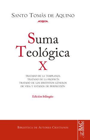 SUMA TEOLÓGICA. X: 2-2 Q. 141-189:  TRATADO DE LA TEMPLANZA ; TRATADO DE LA PROF