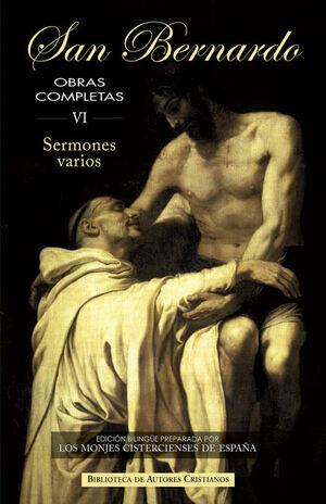 OBRAS COMPLETAS DE SAN BERNARDO, VI: SERMONES VARIOS