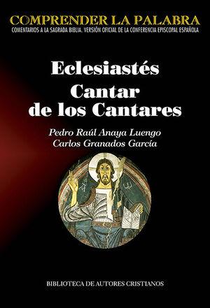 ECLESIÁSTES. CANTAR DE LOS CANTARES