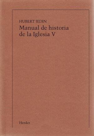 MANUAL DE HISTORIA DE LA IGLESIA V
