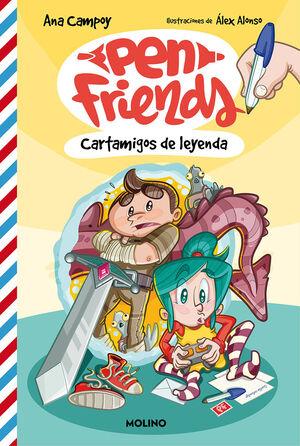 PEN FRIENDS 1 CARTAMIGOS DE LEYENDA