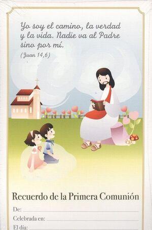 LAMINA RECUERDO PRIMERA COMUNION MOD. 3 (SP)