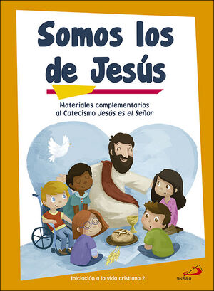 SOMOS LOS DE JESUS (LIBRO DE ACTIVIDADES) INICIACION A LA VIDA CR