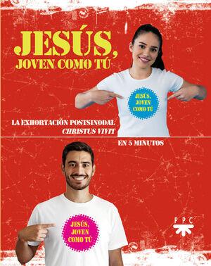 (25 UNIDADES PACK) JESUS, JOVEN COMO TU