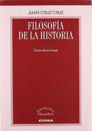 FILOSOFIA DE LA HISTORIA 3ªED