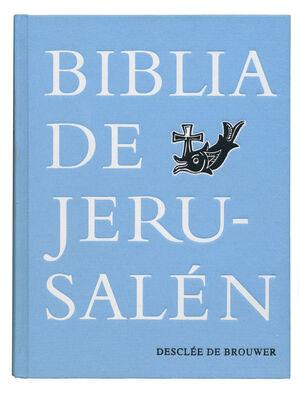 BIBLIA JERUSALEN MANUAL TELA VINTAGE