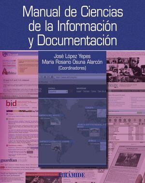 MANUAL DE CIENCIAS DE LA INFORMACIÓN Y DOCUMENTACIÓN
