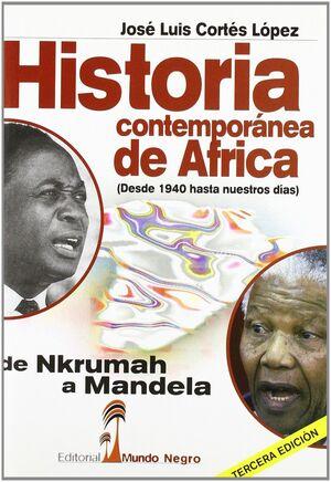 HISTORIA CONTEMPORÁNEA DE ÁFRICA
