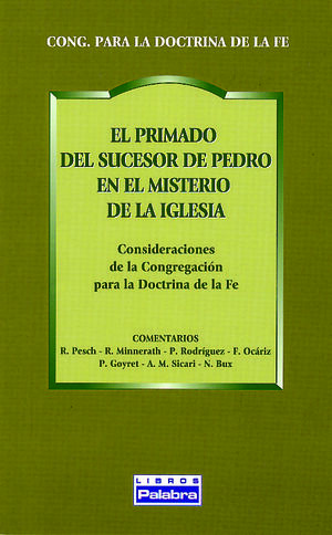 EL PRIMADO DEL SUCESOR DE PEDRO EN EL MISTERIO DE LA IGLESIA
