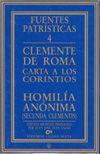 CARTA A LOS CORINTIOS - HOMILÍA ANÓNIMA (SECUNDA CLEMENTIS)