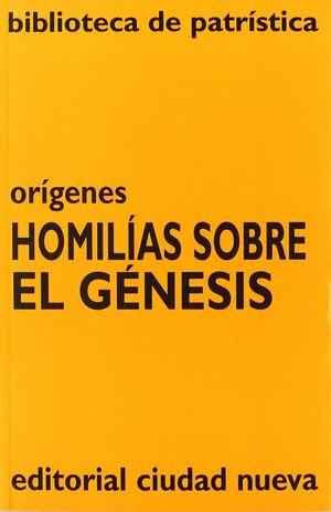 HOMILÍAS SOBRE EL GÉNESIS