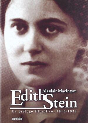 EDITH STEIN. UN PROLOGO FILOSOFICO 1913-1922