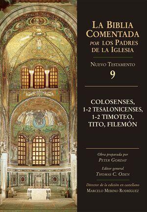 COLOSENSES, 1-2 TESALONICENSES, 1-2 TIMOTEO, TITO, FILEMÓN