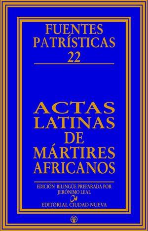 ACTAS LATINAS DE MÁRTIRES AFRICANOS
