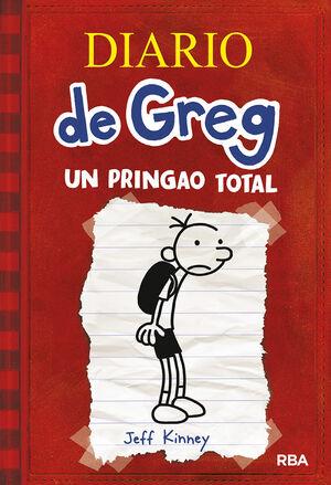 DIARIO DE GREG 1. UN PRINGAO TOTAL.