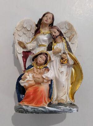 BELEN CON ANGEL 7CM