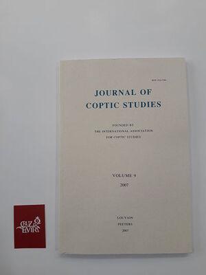 JOURNAL OF COPTIC STUDIES VOLUMEN 9 (2007)