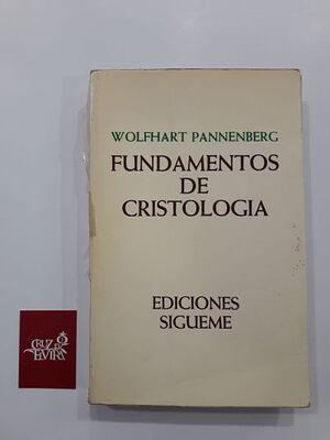 FUNDAMENTOS DE CRISTOLOGÍA